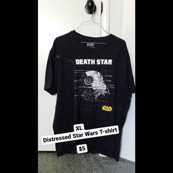 Star Wars Other - Distressed Star Wars T-Shirt